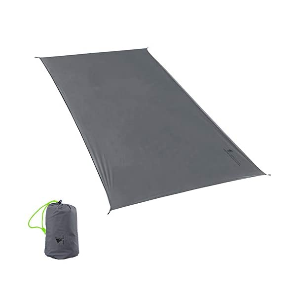 GEERTOP 1-3 Person Ultralight Waterproof Tent Tarp Footprint Ground Sheet Mat - For Camping Hiking Picnic 1