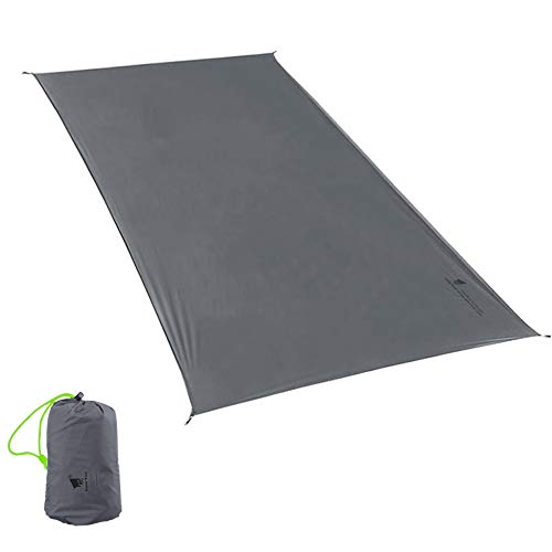 GEERTOP 1-3 Person Ultralight Waterproof Tent Tarp Footprint Ground Sheet Mat, for Camping, Hikin...