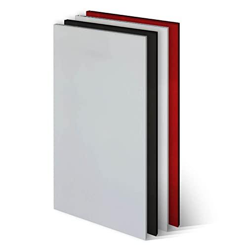 KLEMP Frontblende Geschirrspüler - Geschirrspülerfront 594x715mm - White Mat - Geschirrspülerblende Vollintegriert