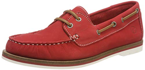 Tamaris Damen 1-1-23616-22 601 Sneaker, Rot (Red Nubuc 601), 37 EU