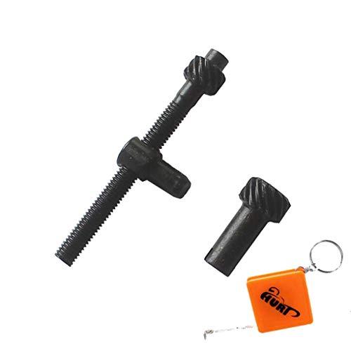 HURI Kettenspanner Kettenspannschraube passend für Motorsäge Kettensäge 45/52 / 58 ccm Plantiflex Erman Brast Viron