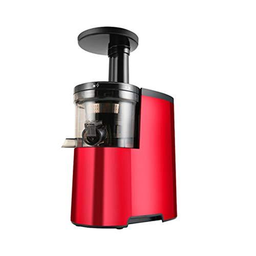 FENG&HE Entsafter Kauen Slow Juicer, BPA Frei Entsafter Gemuese und Obst, Ruhiger Motor und Umkehrfunktion, Kältepresse Entsafter Leicht mit Pinsel zu reinigen