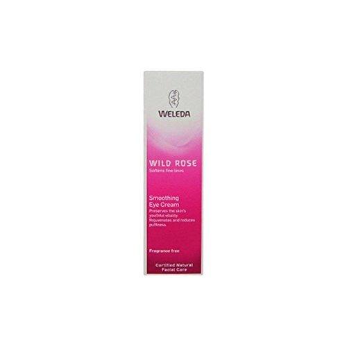 Weleda Wildrose Glättende Augencreme (10 ml) (Packung mit 6)