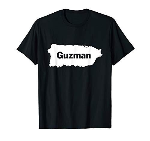 Guzman Last Name, Camisas de Puerto Rico T-Shirt