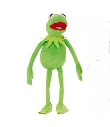20 Zoll Kermit Das Frosch - Das Muppets Stofftier Mit Beanie Schnorrer