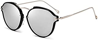Classic UV Protection Sunglasses Outdoor Driving Beach Sunglasses Polarized Sunglasses Sunglasses (Color : Silver)