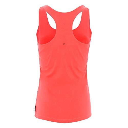 Trangoworld Lazzi Camiseta, Mujer, Coral Intenso, 2XL