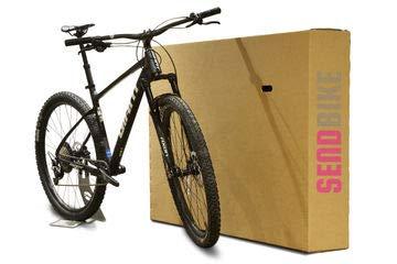SendBike 10 Cajas de cartón para Bicicleta con grapado