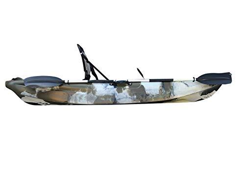 Cambridge Kayaks ES, Manta Camuflaje del Desierto Solo Kayak DE Pesca Asiento Alto