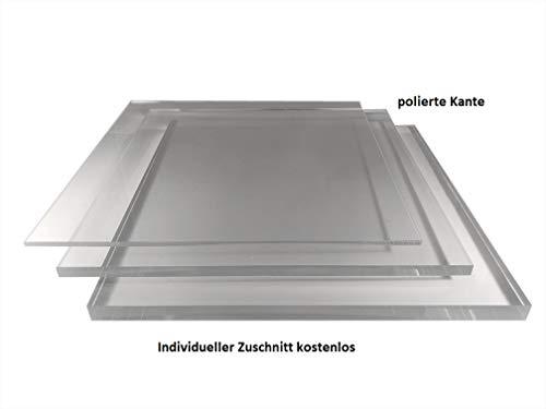 2-8mm Plexiglas Acrylglas Zuschnitt poliert millimetergenauer Zuschnitt kostenlos Platte/Scheibe klar/transparent (5mm, 900x600mm)