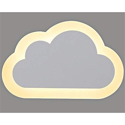 Muur Sconce Lights Moderne LED Wandlampen Wolken Muur Sconce Lamp voor Slaapkamer Home Decoratie L25cm×B16cm×H5cm