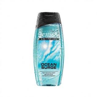 KnBo Avon Senses Ocean Surge - Champú y gel de ducha 2 en 1, 250 ml
