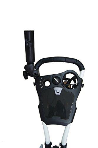 QWIK-FOLD 3 Rad Golftrolley weiß - 3