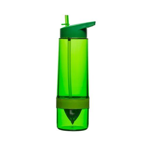 Sagaform Flasche, Becher mit Saftpresse, gr?n, SF 5016672