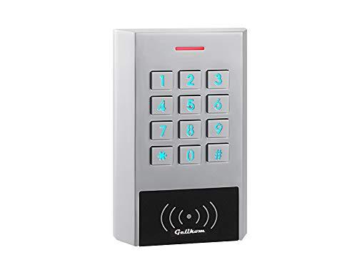 Gelikom XK1 RFID und PIN Codeschloss (Codeschloss + ext. Relais)