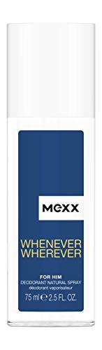Mexx Wherever Men Deodorant Spray, 75 ml