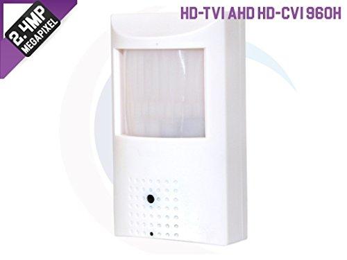 HDVD 2.4MP 1080p Full HD 4-IN-1 (AHD, HD-TVI, HD-CVI, 960H) CCTV Security Surveillance HD 18 IR LED Night Vision Motion Detector PIR Camera