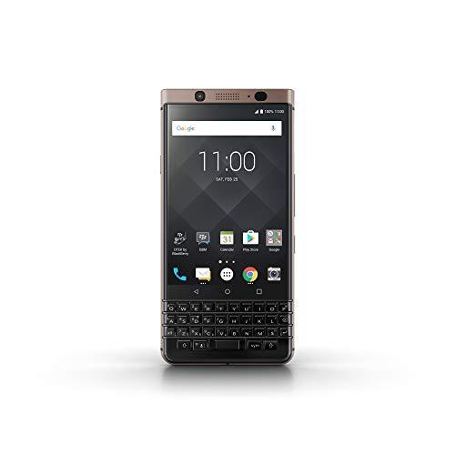 Preisvergleich Produktbild BlackBerry KEYone Business Smartphone (64GB interner Speicher,  4GB RAM,  LTE,  12MP Kamera,  11, 43 cm (4, 5 Zoll IPS LCD Display)) bronze