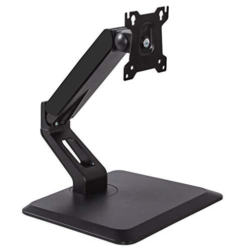Supporto per TV,Staffa per Braccio per Monitor per PC con Supporto ergonomico Regolabile in Altezza,Supporto per Monitor Tavolo Girevole inclinabile Riser per Schermo per Monitor LCD 17-32