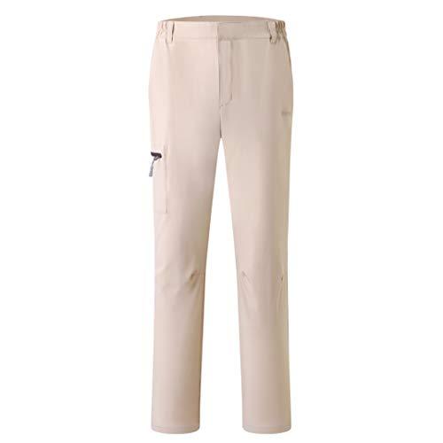 Eono Essentials - Pantalones hombre , M (caqui) ligero