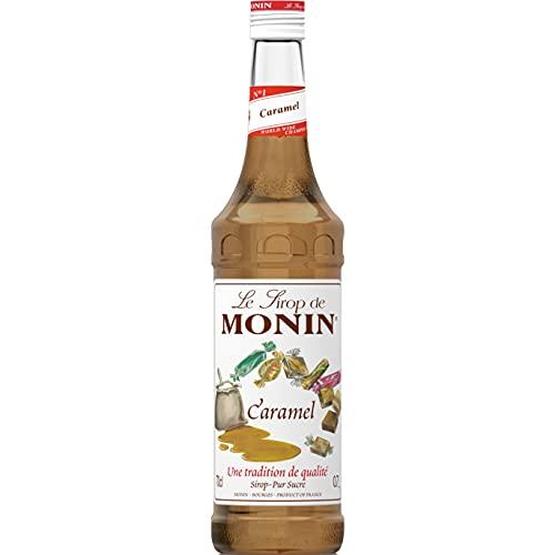 MONIN - Sirop de Caramel pour Café, Cappuccino et Chocolat Chaud - Arômes Naturels - 70cl