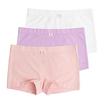 Sophie Girls Shortie, Hybrid Underwear Short, Ideal for Skirts & Dresses, Encased Waistband, Pastel, 3 Pack, Pastel, 7/8