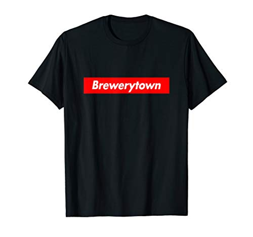 Brewerytown Box Logo Super Parody Meme Funny T-Shirt