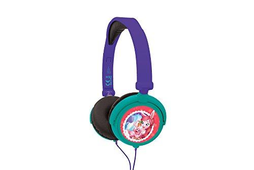 Enchantimals - Cascos Estéreo, Auriculares con Diadema Ajustable Y Plegable