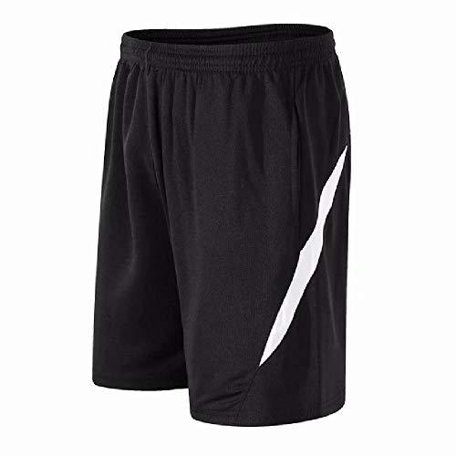 U/A Short Hommes avec Poches Séchage Rapide Respirant Formation Lâche Shorts Hommes Running Sportmen Casual Shorts Hommes - Blanc - 3XL