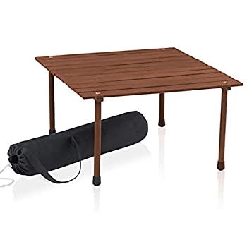 Best portable wood table Reviews