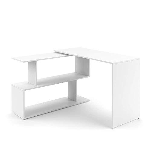 Vicco Eckschreibtisch Schreibtisch LEVIA - PC Tisch Winkelkombination Arbeitstisch Computer Büro +++ 4 Dekore +++