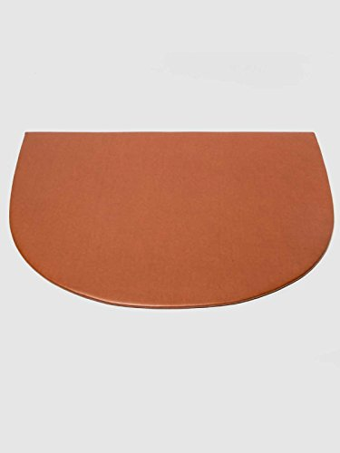 Vade de sobremesa ovalado con ángulo de sujeción. Medidas 60 x 44 cm