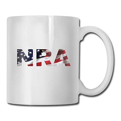 Taza de la Asociación Nacional del Rifle de la NRA, taza de café para bebidas calientes, taza de gres, taza de café de cerámica, taza de té de 11 oz, regalo divertido, taza de té y café