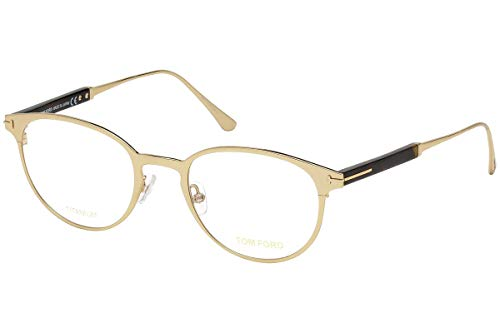 Tom Ford FT5482 bril 50-21-145, goudkleurig, met Demo-lenzen 028 TF5482 TF 5482 FT 5482