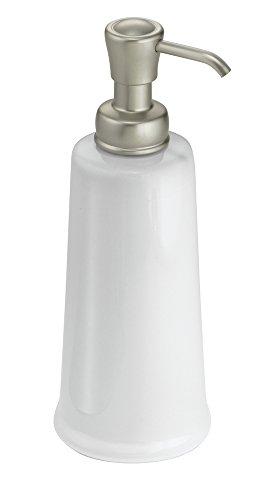 Price comparison product image iDesign York 2-Sink Pump,  White / Satin