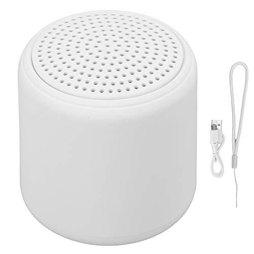 Aiwend Mini-Bluetooth-Lautsprecher, 5.0 Bluetooth Mini-Wireless-Lautsprecherbox, Mini-Bluetooth-Lautsprecher Tragbare Lautsprecher für zu Hause, Im Freien, Klein, Aber Laut(Weiß)