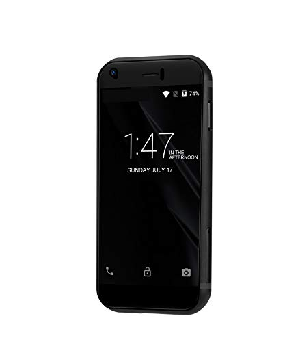 Android 6.0 SOYES 7S 2.5 Inch Mini Phone Unlocked with ROM 1G RAM 8G,3G WCDMA Smart Phone (Black)