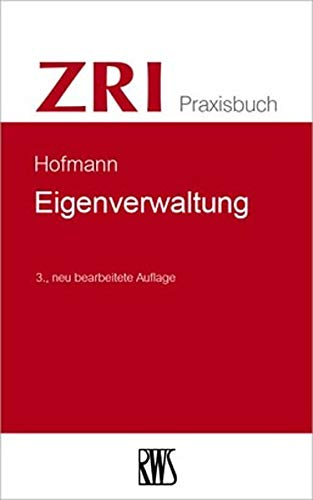 Eigenverwaltung (ZRI-Praxisbuch)