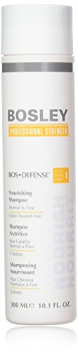 Bos Defense Nourishing Shampoo Normal To Fine Color Treated Hair/FN220104/10.1 oz// by Bosley