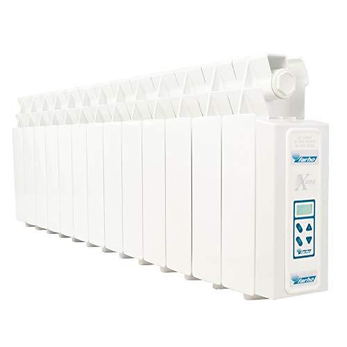 Farho Elektrische olieradiator, energiebesparend, laag profiel, LPD 975W (13), elektrische radiator met digitale thermostaat, 24/7, wifi optioneel, speciaal onder raam