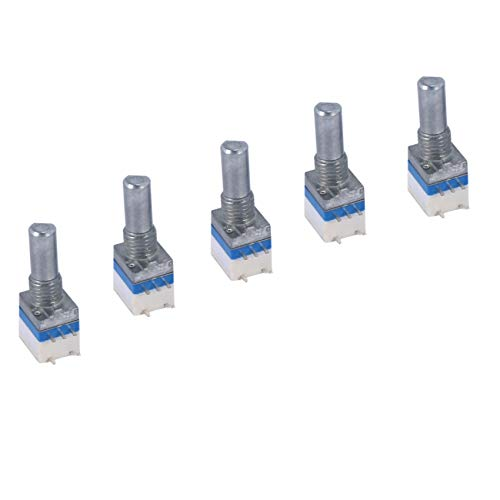 Kaxofang 5pzs perilla de encendido reemplazo de interruptor de volumen para BF-888S UV-5R UV-82 Walkie Talkie