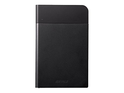 Buffalo MiniStation Extreme NFC USB 3.0 2 TB Rugged Portable Hard Drive (HD-PZN2.0U3B),Black
