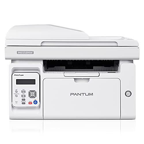 PANTUM M6558NW Stampante Multifunzione Laser Monocromatica 3 in 1 Copia/Stampa/Scansione Wireless con ADF 50 Fogli per Ufficio e Casa