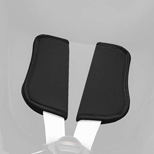 Britax Römer Dualfix Gurtpolster - Cosmos Black und Steel Grey