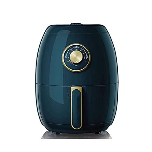 DZX Freidora de Aire con Control de Temperatura, Freidora de Aire 3L, Freidora Saludable sin Aceite, Cocina de inducción Freidora eléctrica Multifuncional, Sincronización Inteligente Ajustable, Fre