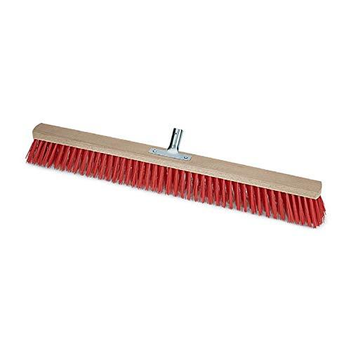 Unbekannt 'Trickschachtel–Scan der Besen/Hall mit robustas Borsten PVC- und Halsstütze-Metall (40cm breit) ohne Schaft