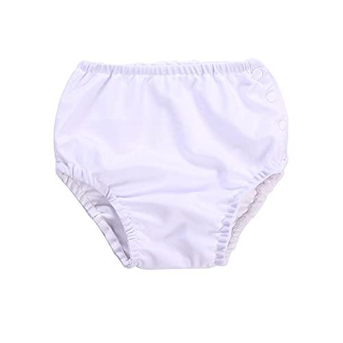 STARMOON Pañal de natación para niños, reutilizable y impermeable, para bebés y niñas, pañales de natación unisex