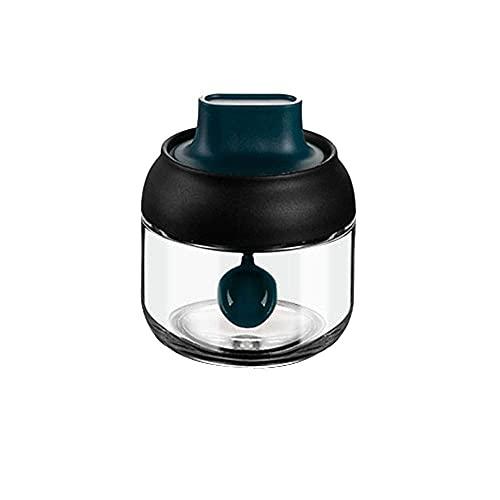 Spice Opslag Glas Verzegelde Kruiden Jar Keuken Huishouden Vochtbestendige Transparante Kruiden Jar Cover Lepel…