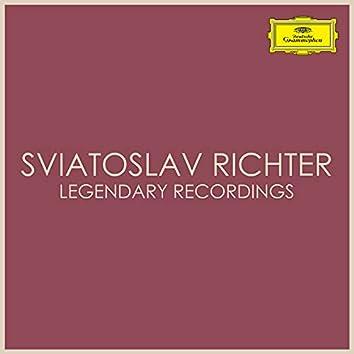 Sviatoslav Richter Legendary Recordings