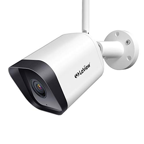 Laview Security Camera Outdoor 1080P HD,WiFi Cameras,Home Security Cameras with AI Human Detection,Two-Way Audio,Night Vision,ONVIF Protocol Compatible with Alexa,SD Slot&USA Cloud Storage